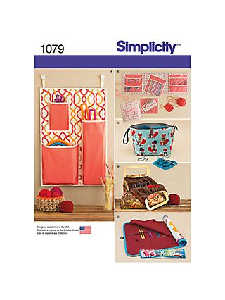 Simplicity Knitting and Crochet Sewing Pattern, 1079