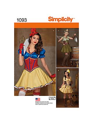 a1b9f92f322 Simplicity Misses  Cosplay Costume Sewing Pattern