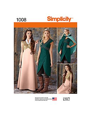 fa4290cbb0 Sewing Patterns | Simplicity & Vogue Patterns | John Lewis & Partners