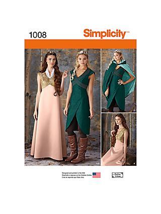 2d15055f9a64c Sewing Patterns | Simplicity & Vogue Patterns | John Lewis & Partners