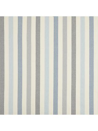 John Lewis & Partners Penzance Stripe Furnishing Fabric, Blue