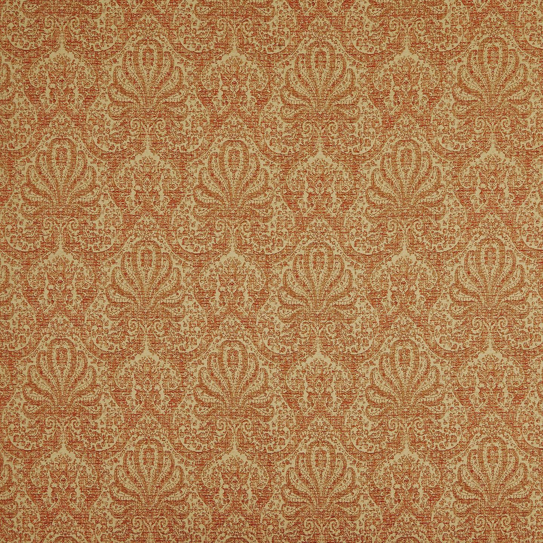 John Lewis Tripoli Damask Furnishing Fabric Red At John Lewis