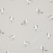 Buy John Lewis Seagulls Furnishing Fabric, Smoke Online at johnlewis.com