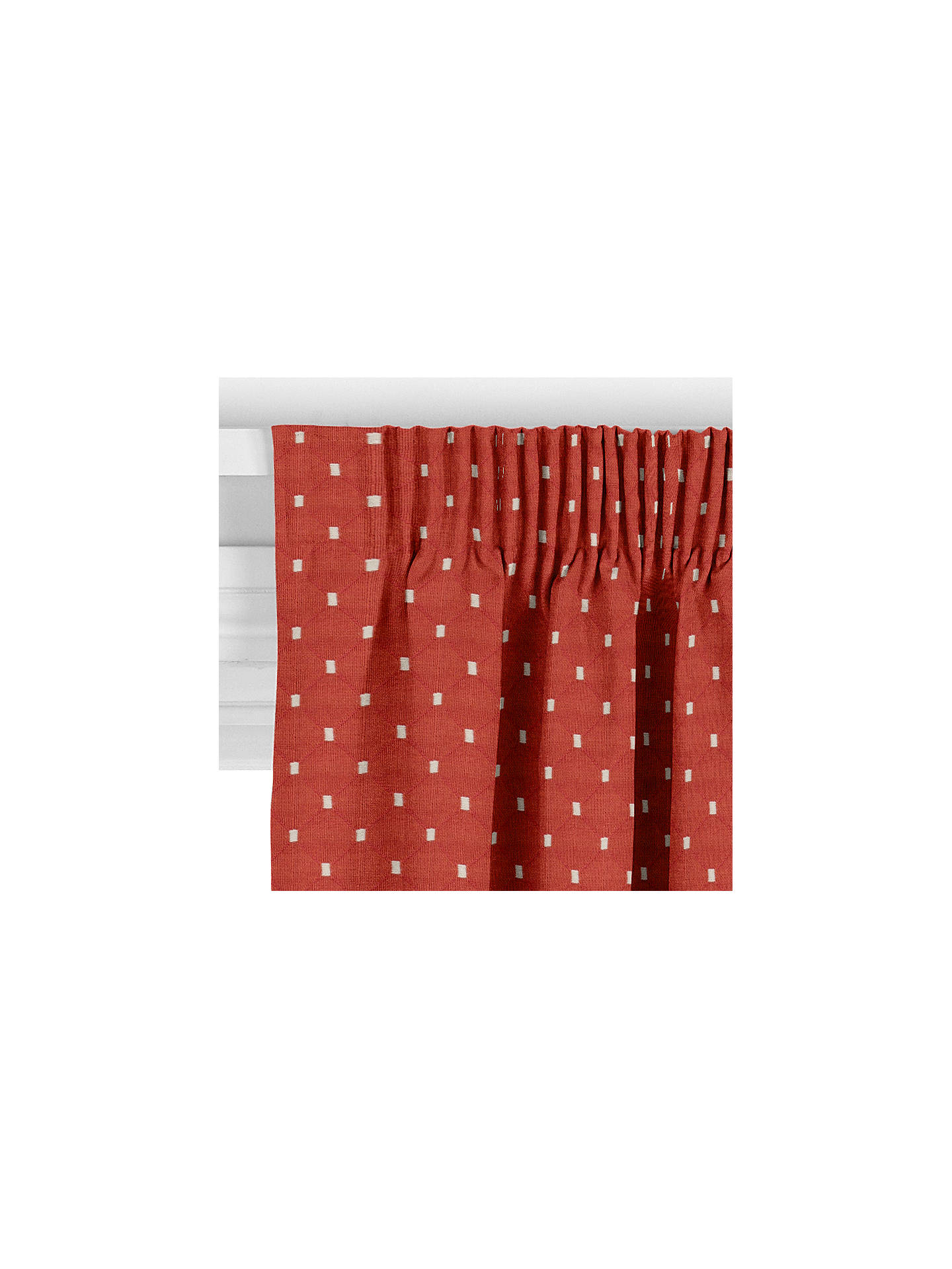 Buy John Lewis & Partners Provence Made to Measure Curtains, Russet Online at johnlewis.com