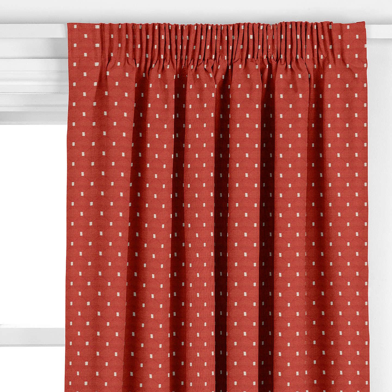 john lewis provence curtain russet at john lewis. Black Bedroom Furniture Sets. Home Design Ideas