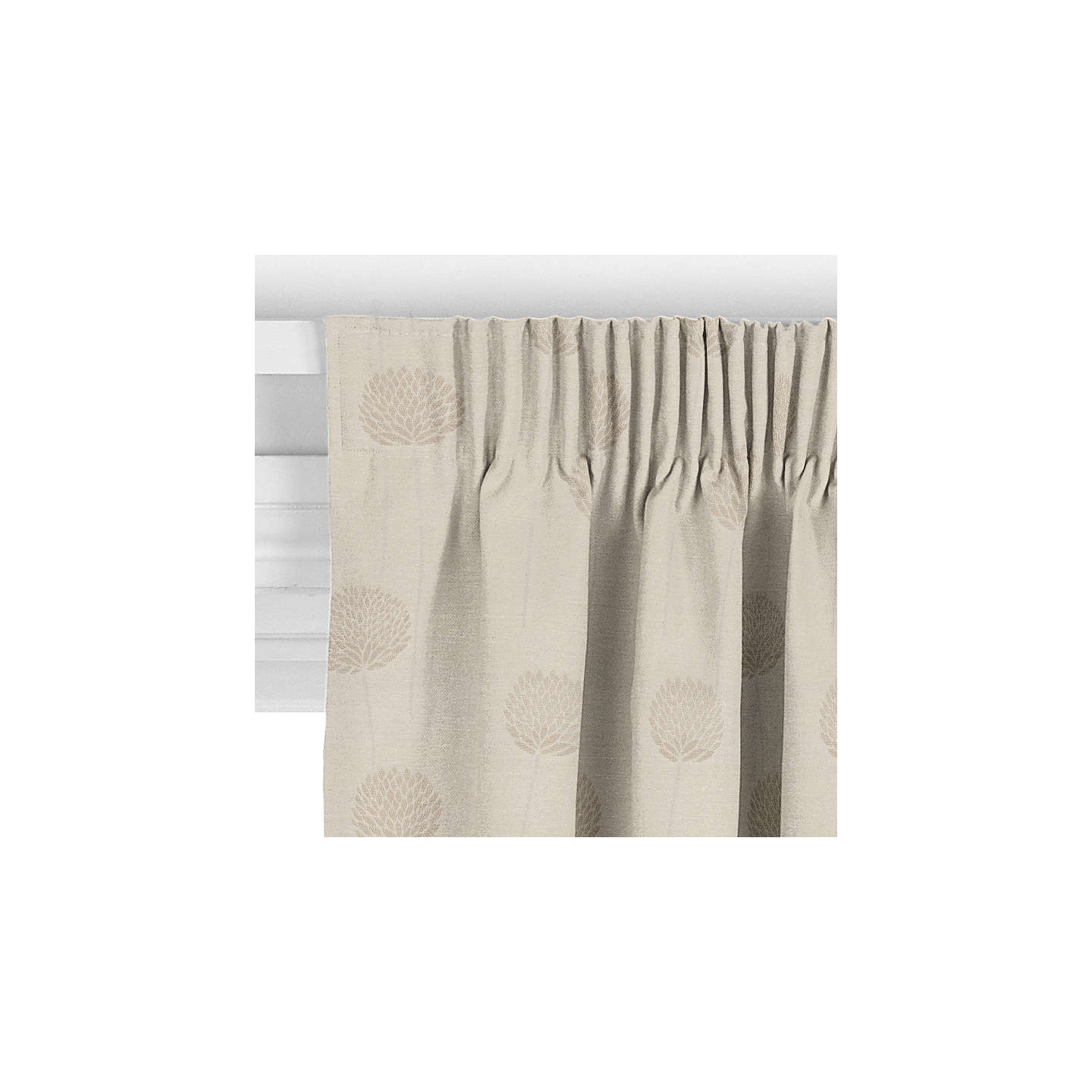 BuyJohn Lewis Nadia Curtain, Linen Online at johnlewis.com