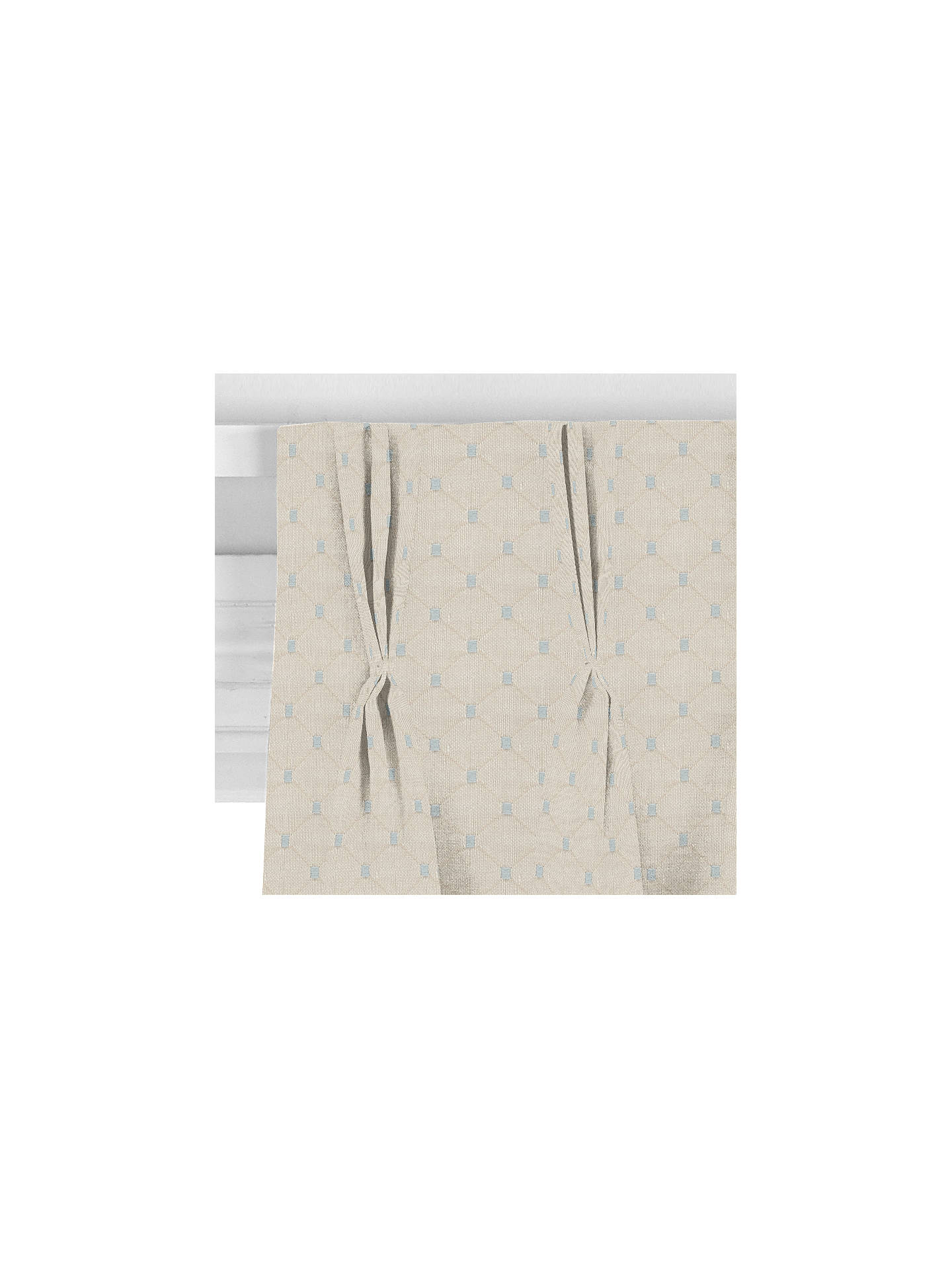 BuyJohn Lewis & Partners Provence Curtain, Natural  / Blue Online at johnlewis.com