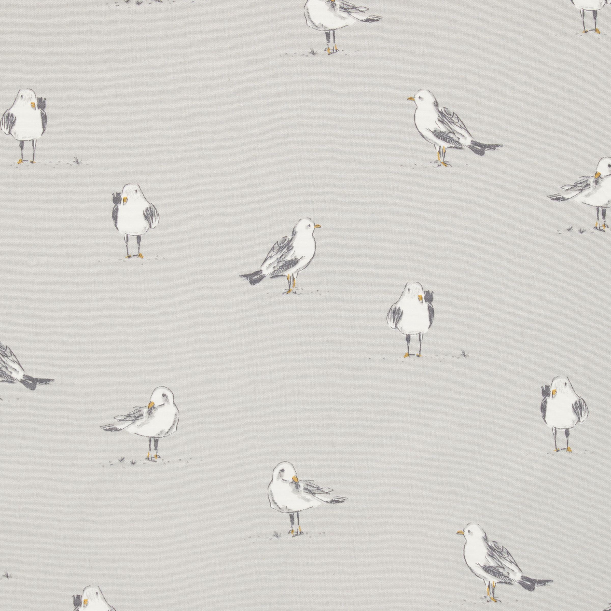 Grey and yellow curtains uk john lewis - Buy John Lewis Seagulls Curtain Smoke Online At Johnlewis Com