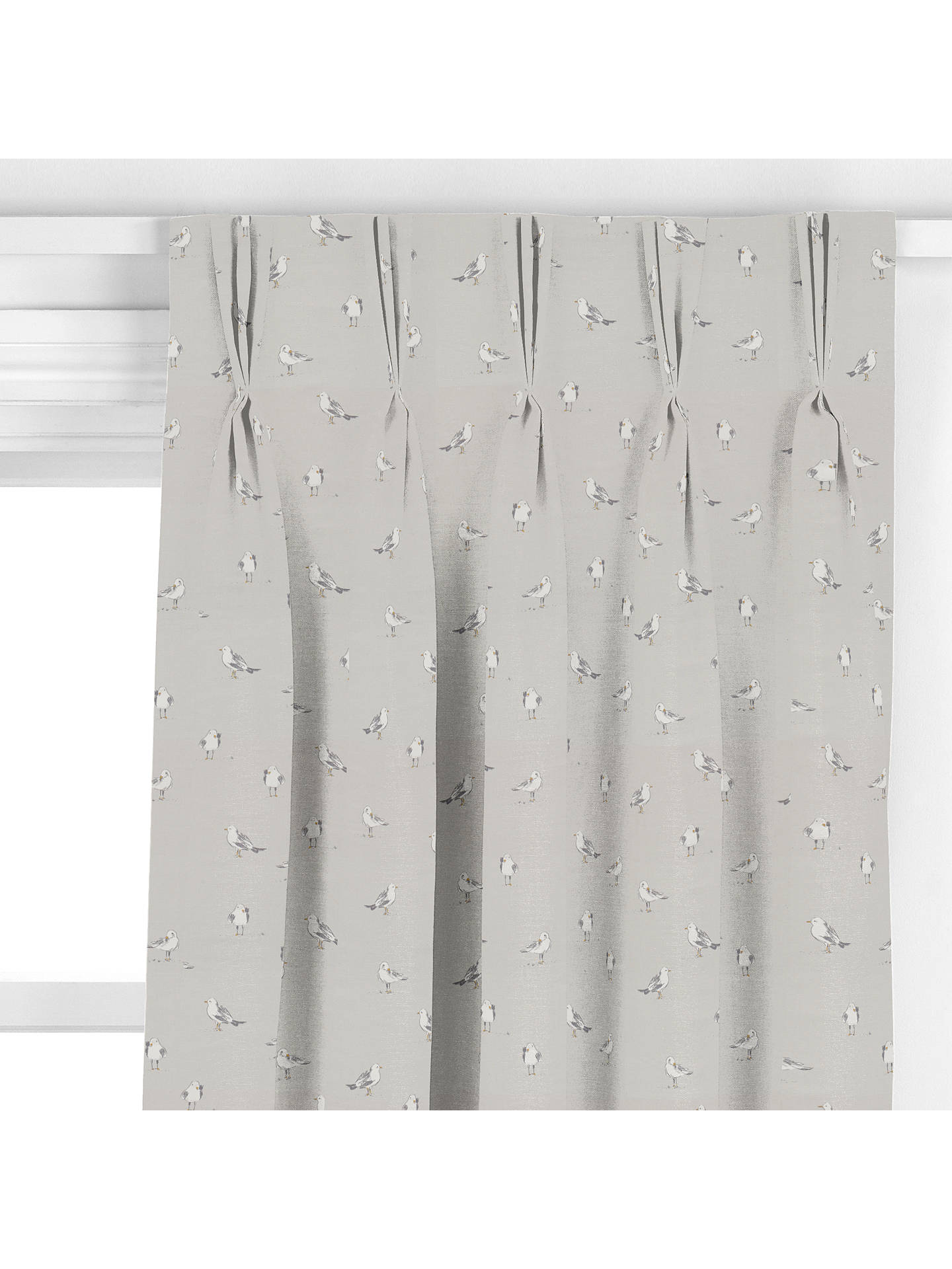 BuyJohn Lewis & Partners Seagulls Curtain, Smoke Online at johnlewis.com