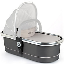Buy iCandy Peach Carrycot, Truffle 2 Online at johnlewis.com