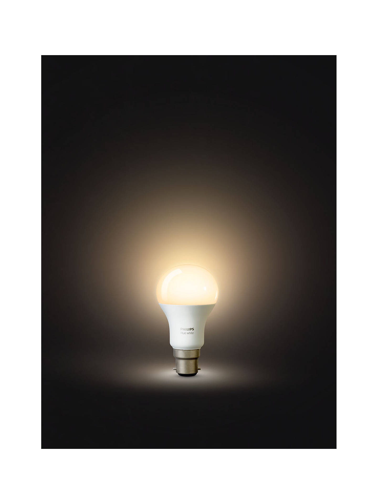 BuyPhilips Hue White 9W A60 Smart Bulb, B22 Fitting Online at johnlewis.com