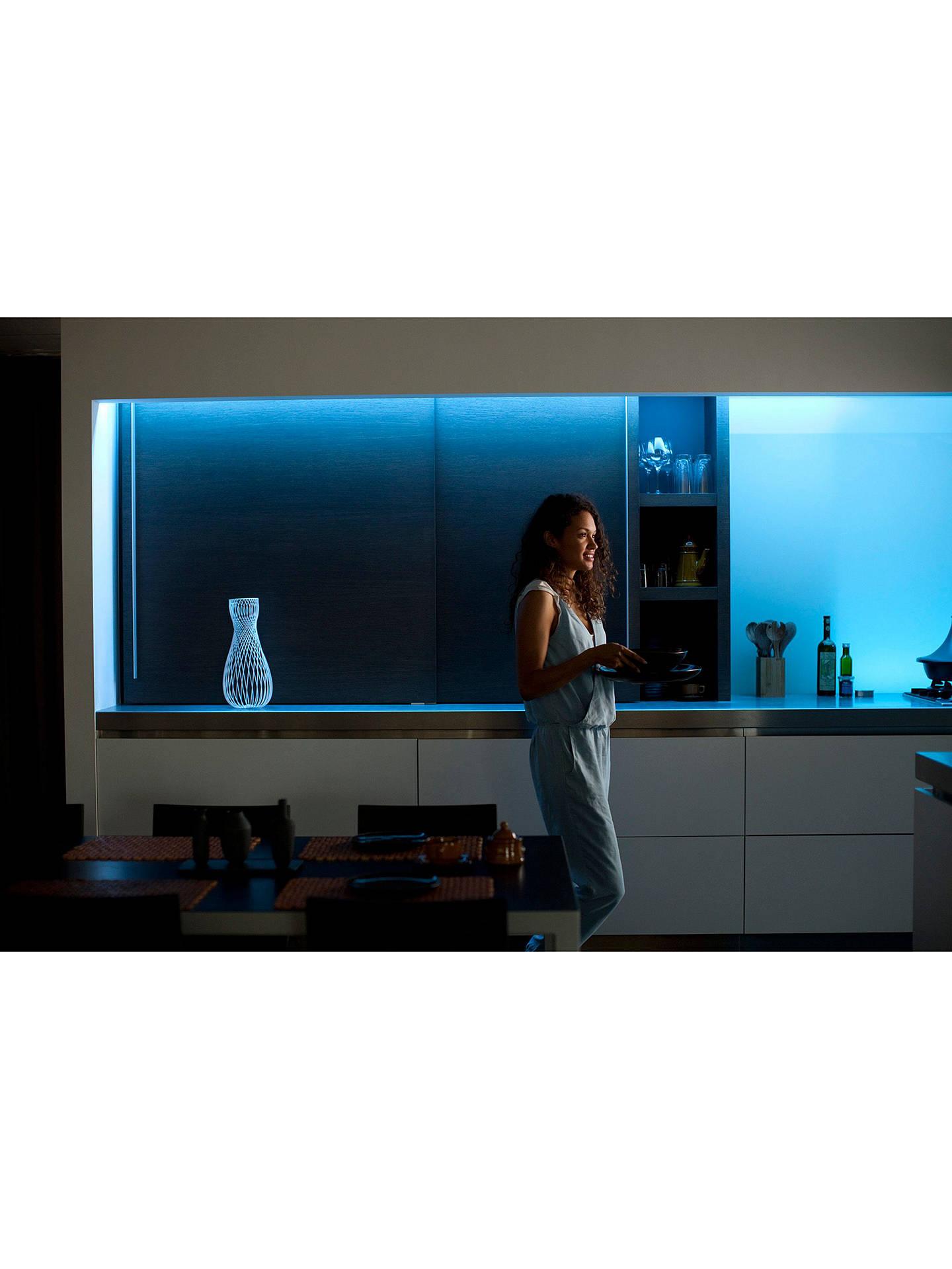 Philips Hue Personal Wireless Lighting LightStrip Plus, 100cm LED  LightStrip Extension Kit