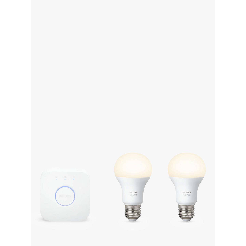 Philips Hue White Personal Wireless Lighting LED Starter