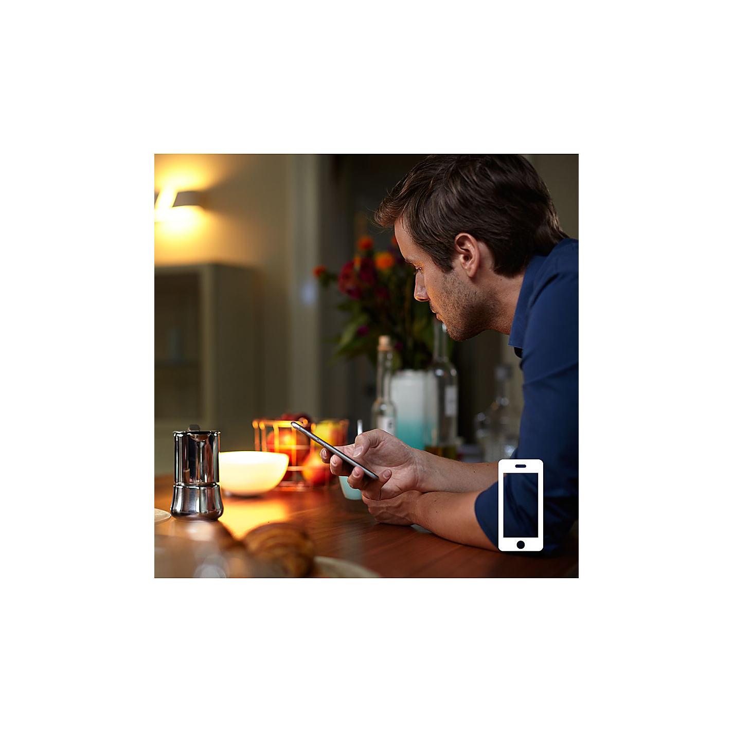 Buy Philips Hue White Personal Wireless Lighting LED Starter Kit ...