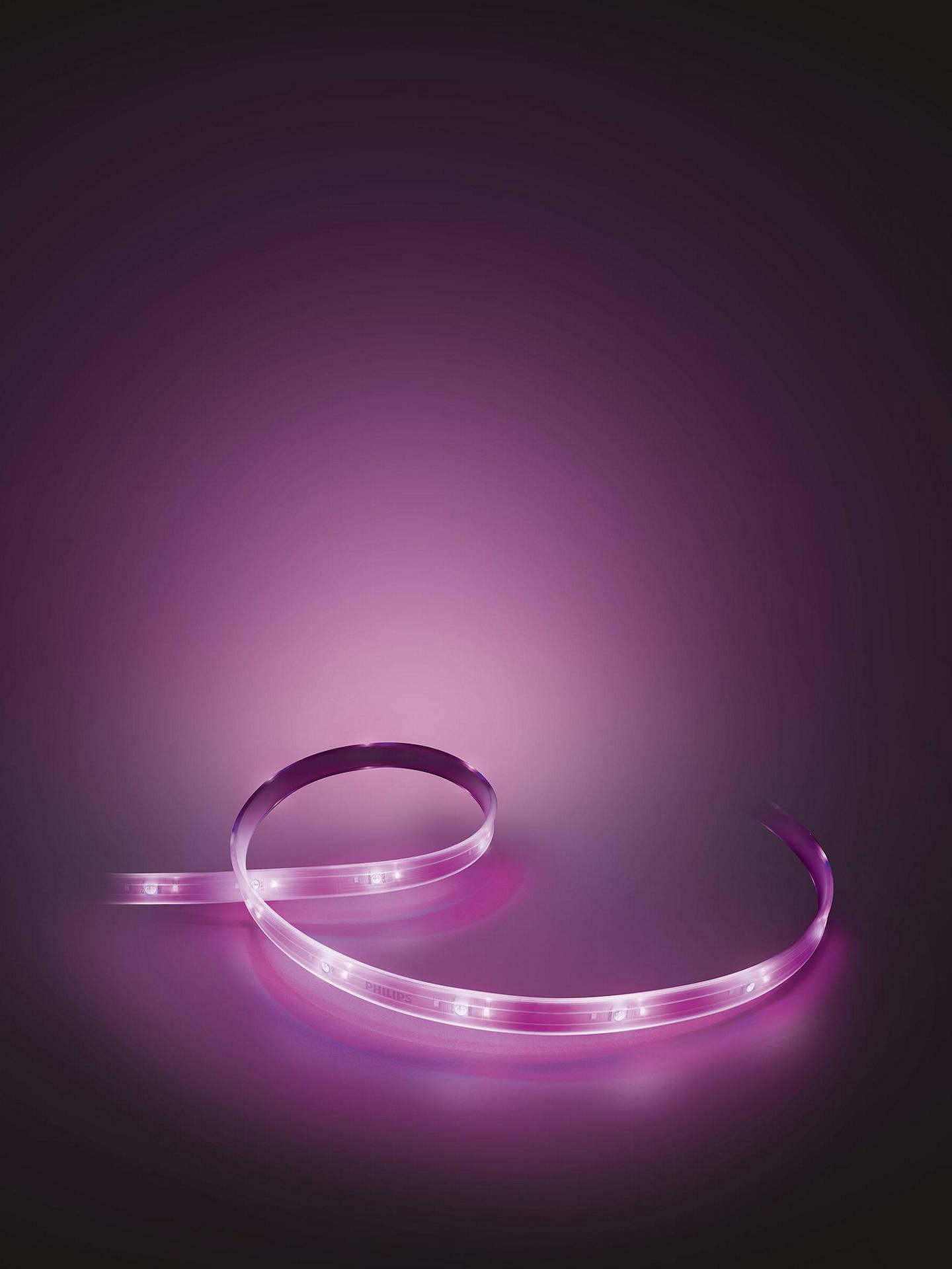 Philips Hue Personal Wireless Lighting Lightstrip Plus, 200cm LED  LightStrips Kit
