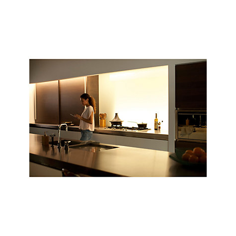 buy philips hue personal wireless lighting lightstrip plus 200cm led lightstrips kit john lewis. Black Bedroom Furniture Sets. Home Design Ideas