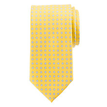 Buy John Lewis Base Ditsy Flower Silk Tie Online at johnlewis.com