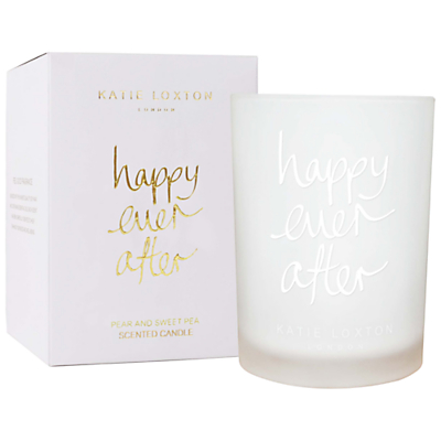 Katie Loxton 'Happy Ever After' Pear and Sweet Pea Scented Candle