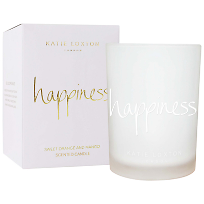 Katie Loxton 'Happiness' Sweet Orange and Mango Scented Candle