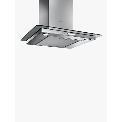 Image of Elica Quartz 60cm High Efficiency Chimney Cooker Hood, Stainless Steel