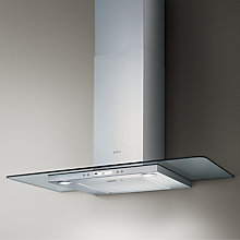 Buy Elica Quartz 90cm High Efficiency Chimney Cooker Hood, Stainless Steel Online at johnlewis.com