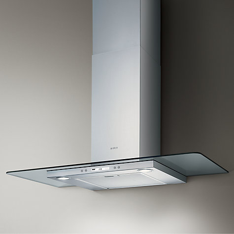 Buy Elica Quartz 90cm High Efficiency Chimney Cooker Hood, Stainless Steel  Online at johnlewis.