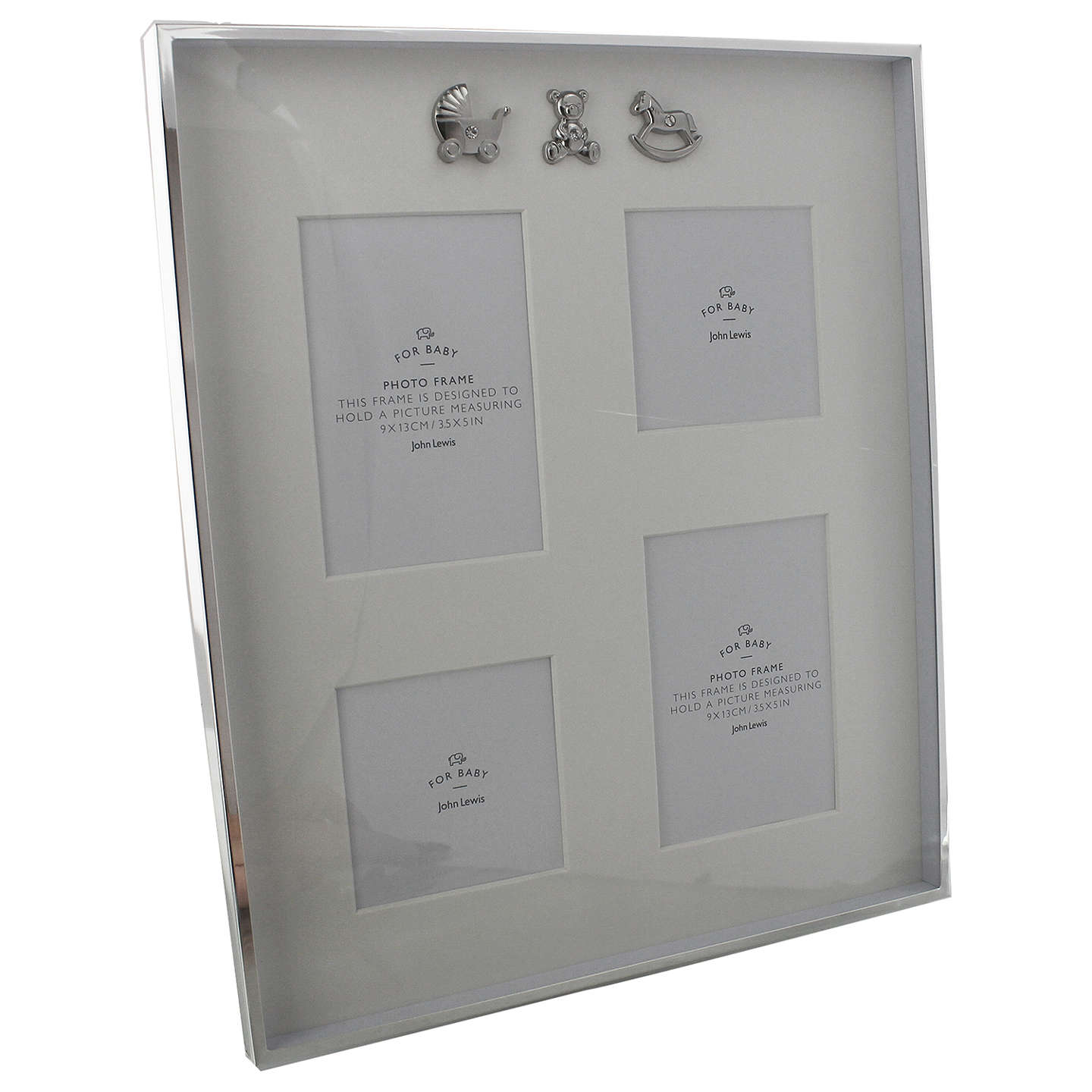 BuyJohn Lewis Silver Plated Collage Photo Frame Online at johnlewis.com