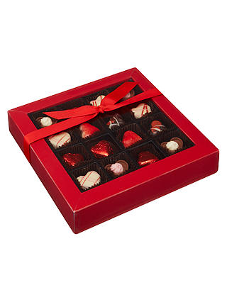 Buy Natalie 16 Filled Chocolate Hearts Variety Box, 180g Online at johnlewis.com