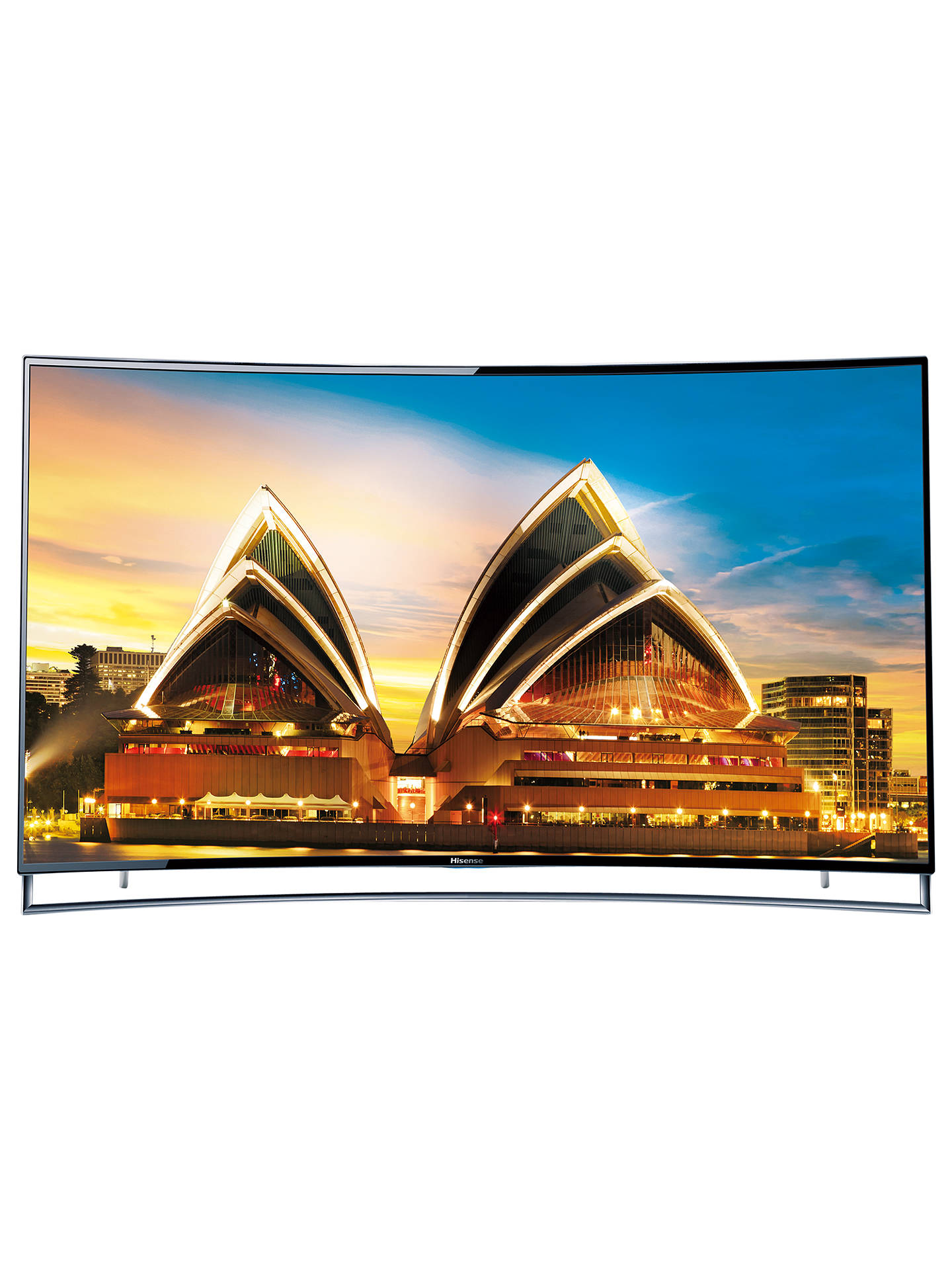 Hisense 65XT910 Curved 4K ULED 3D Smart TV, 65