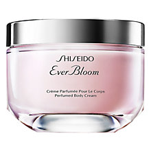 Buy Shiseido Ever Bloom Perfumed Body Cream, 200ml Online at johnlewis.com