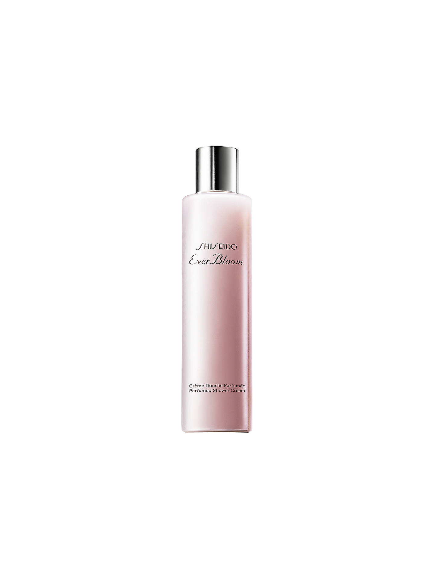 Buy Shiseido Ever Bloom Perfumed Shower Cream, 200ml Online at johnlewis.com