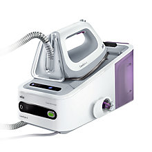 Buy Braun CareStyle 5 IS5043WH Steam Generator Iron, White Online at johnlewis.com