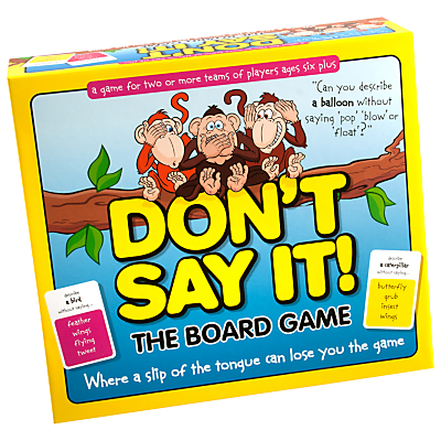 Image of Don't Say It! The Board Game
