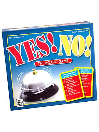 Yes! No! The Board Game