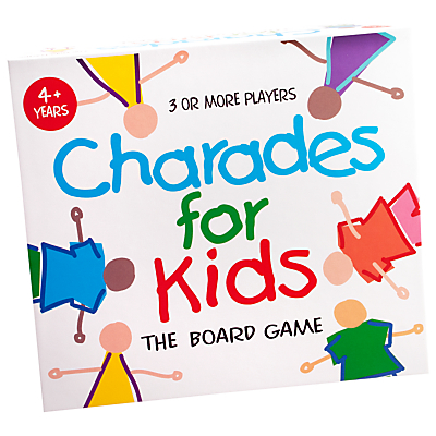 Image of Charades For Kids The Board Game