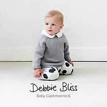 Buy Debbie Bliss Baby Cashmerino 6 Knitting Book Online at johnlewis.com