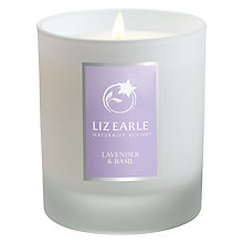 Buy Liz Earle Lavender & Basil Candle Online at johnlewis.com