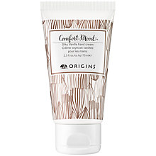 Buy Origins Comfort Mood Silky Vanilla Hand Cream, 75ml Online at johnlewis.com