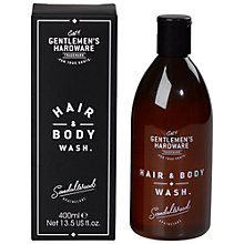 Buy Gentlemen's Hardware Hair and Body Wash Online at johnlewis.com