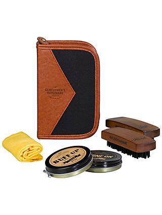 7a60c0a7aaaf03 Gentlemen s Hardware Shoe Shine Kit