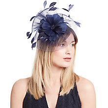 Buy John Lewis Sara Crin and Feather Mini Disc Fascinator Online at johnlewis.com