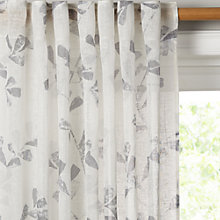 Buy John Lewis Thalia Hidden Tab Top Voile Panel, W150 x Drop 230cm Online at johnlewis.com