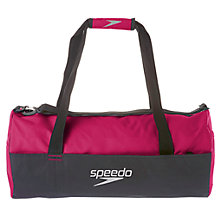 Buy Speedo Duffel Bag, Pink/Black Online at johnlewis.com