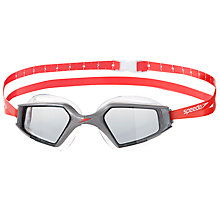 Buy Speedo Aquapulse Max 2 IQfit Goggles, Red/Silver Online at johnlewis.com