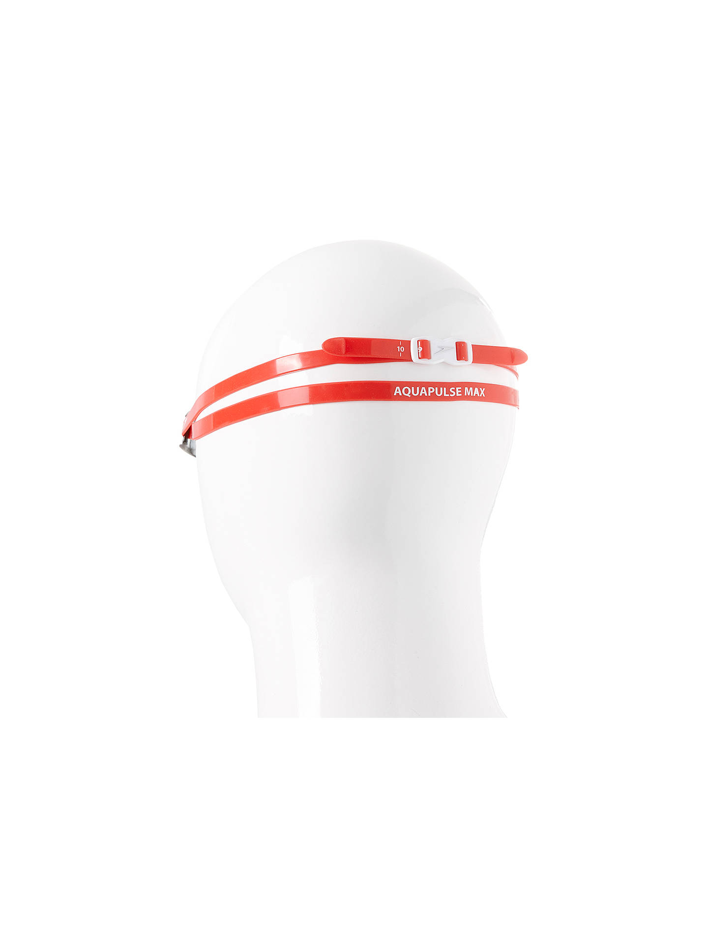 BuySpeedo Aquapulse Max 2 IQfit Goggles, Red/Silver Online at johnlewis.com