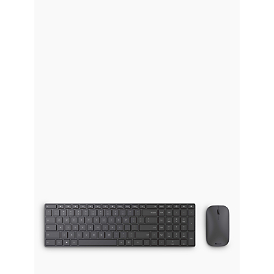 Image of Microsoft Designer Bluetooth Desktop Keyboard and Mouse, Black