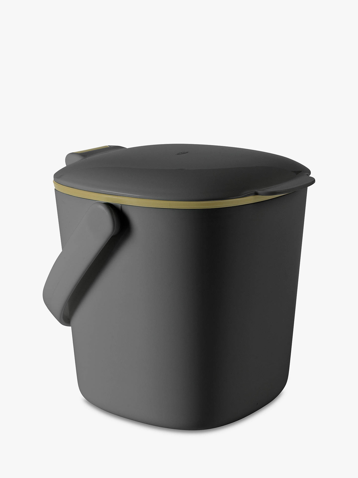 BuyOXO Compost Food Waste Caddy, Grey Online at johnlewis.com