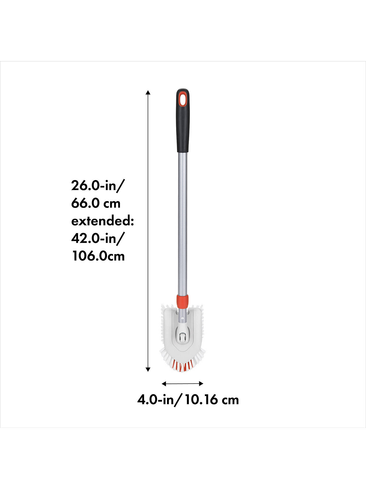 BuyOXO Good Grips Extending Tub and Tile Brush Online at johnlewis.com