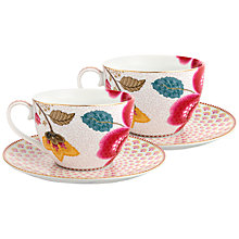 Buy PiP Studio Fantasy Cup & Saucer, Set of 2 Online at johnlewis.com