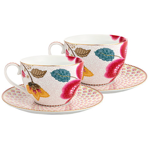 Buy pip studio fantasy cup saucer set of 2 john lewis - Pip studio espana ...